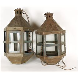 Antique Brass Light Fixtures
