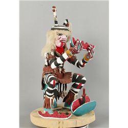 Clown Kachina by G.V.Y