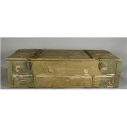 Vintage Army Supplies Shipping Crate
