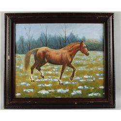 Acrylic on Canvas of Horse