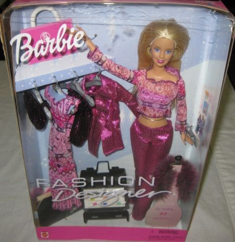 2000 Barbie Fashion Designer