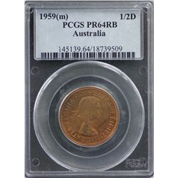 1959 Melbourne Proof Set