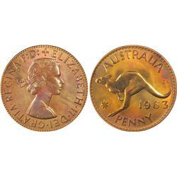 1963 Perth Pair of Penny & halfpenny
