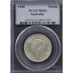 1940 Florin PCGS MS63