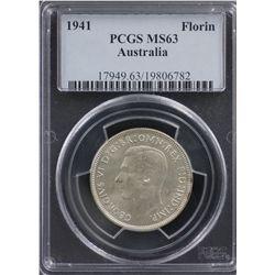 1941 Florin PCGS MS63