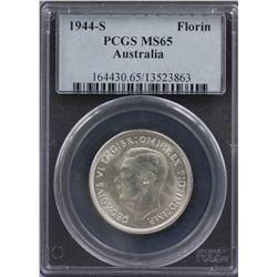 1944 S Florin PCGS MS65