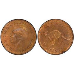1938 Penny PCGS MS 64 BN