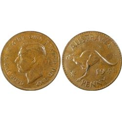 1941 Penny PCGS MS63 BN