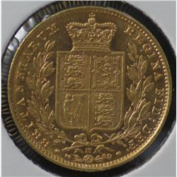 1885M Shield Sovereign Uncirculated
