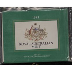 Australia 1985 Mint Sets (5) In packaging of issue
