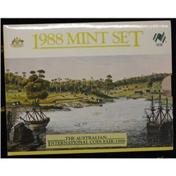 Australia 1988 Mint Sets (5) In packaging of issue