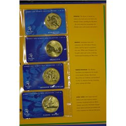 2001 collection of $5 coins in original folder $150 FV