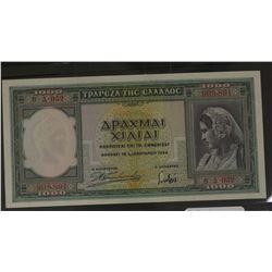 Greece 1939 1000 Drach