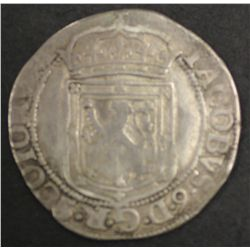 Scotland 1601 Sixpence Poor only but readable