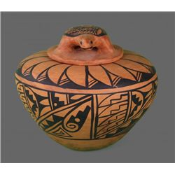 Diane Wade, Isleta Antique Native American Hand Painted