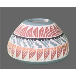 Navajo Handmade Pottery, signed by artist F. Jarvison