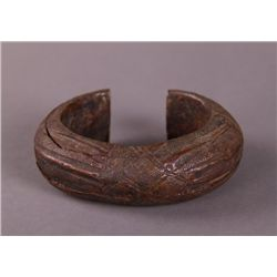 Copper Slave Trade Currency Artifact Bracelet.  From