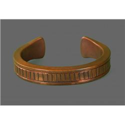 Copper Bracelet, Native American   (Size:  See Last