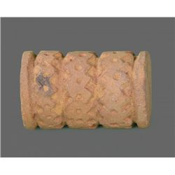 Pre-Columbian Artifact of a Tattoo Roller   (Size:  See