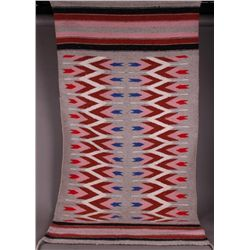 Antique Native American Rug   (Size: 62 inches x 29 inches)
