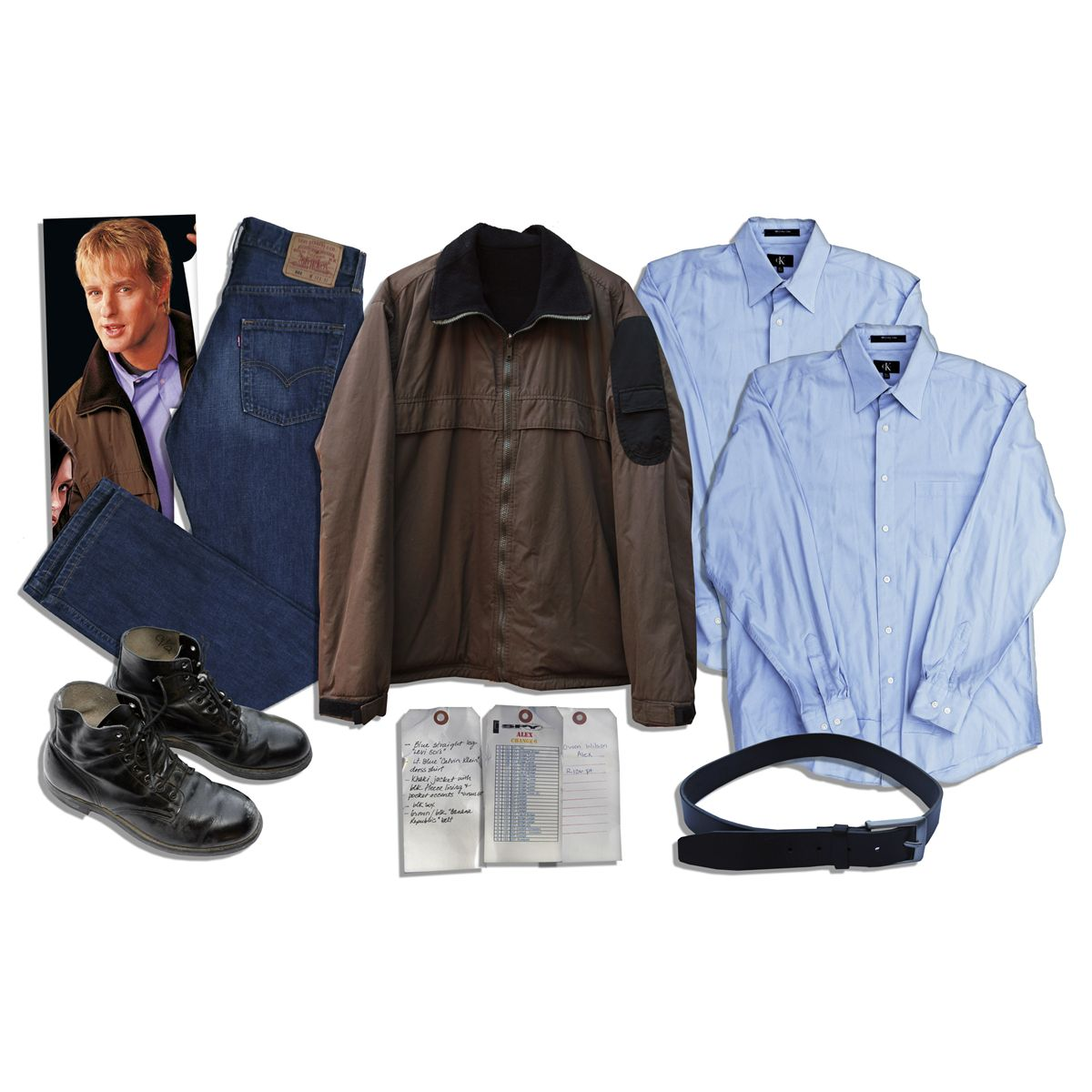 Owen Wilson Wardrobe From ''I Spy'' -- Levi's Jeans, Two