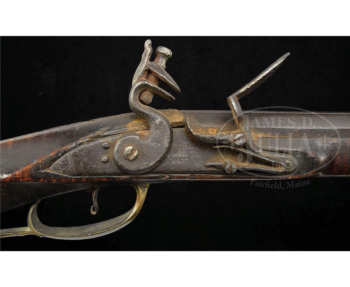 EARLY WOODEN PATCHBOX RIFLE BY JOHN GRAEFF OF LANCASTER PICTURED IN  KINDIG'S BOOK
