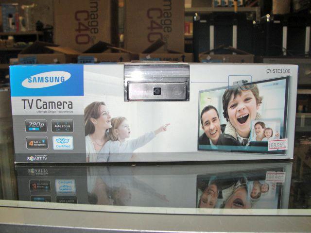 Samsung TV camera ultimate skype experience unit