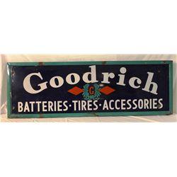 Goodrich Batteries, Tires, & Accessories Sign