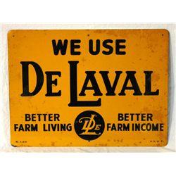 De Laval Single-sided Tin Sign