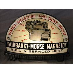 Fairbanks & Morse Magnetos Gillco Lighted Sign