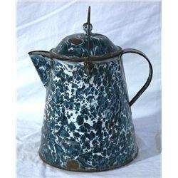 Splatterware Porcelain Coffee Pot