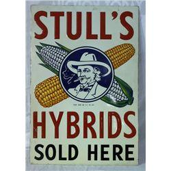 Stulls Hybrids Single-sided Embossed Tin Sign