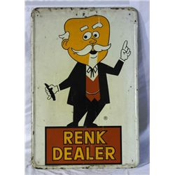 Renk Seed Dealing Single-sided Tin Sign