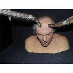 SPECIES 3 SIL VICTIM SILICONE HEAD AND BUST TENTACLES PENETRATE ALL HAND PUNCHED HAIRS!
