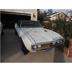 69 & 69 BIG BLOCK 4 SPEED POSI PONTIAC FIREBIRD CONVERTIBLES WITH LOTS OF PARTS AN ENTIRE BUSINESS!