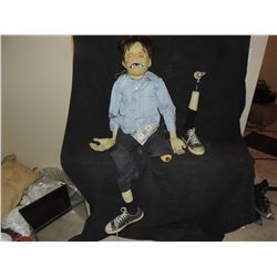 ANIMATRONIC CREEPY GHOUL PUPPET FROM MUSIC VIDEO