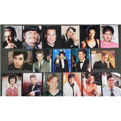 17 Male Stars 8x10 Photos De Niro, Carrey, Osmond