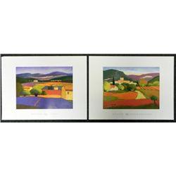 2 Elisabeth Estivalet Art Prints Le Reve, Chemin Des