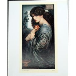 Dante Gabriele Rossetti Prosperine Victorian Art Print