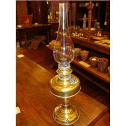 Antique French oil Lamp made of brass circa 1860