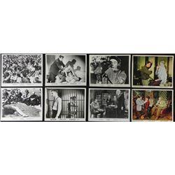 "8 Classic Movie Lobby Photo Cards 8"" x 10"" 1960-68"