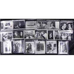 Variety 18 Original Kennedy Press Photos Jackie Eunice
