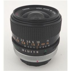 Canon Lens FD 24mm 1:2.8 Wide Angle
