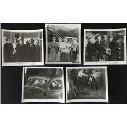 "5 Stella Lobby Photo Cards 1950 Fox Movie 8"" x 10"" Art"
