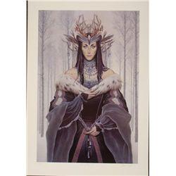 Queen of the Snows Art Print Dawn Wilson