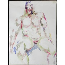 Betty Snyder Rees Original Painting Saturday Nudes #15