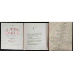 Dali Dante Divine Comedy Portfolio w/ Text -Le Paradis