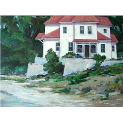 The Villa Original Acrylic By Baker