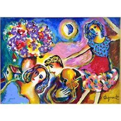 Serenade by Steynovitz Original Oil Signed 22x16