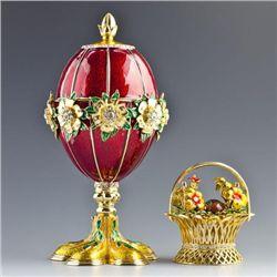 Flowers Basket Faberge Egg